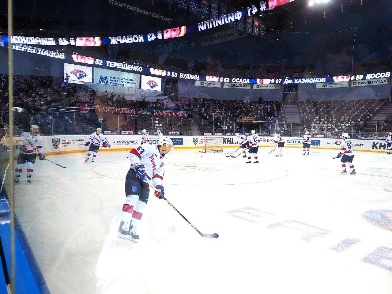 10 Металлург - СКА 03.02.2017