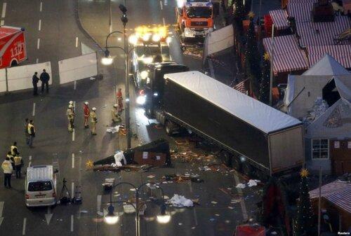 Теракт в Берлине: 14 пострадавших из 48 - в тяжелом состоянии