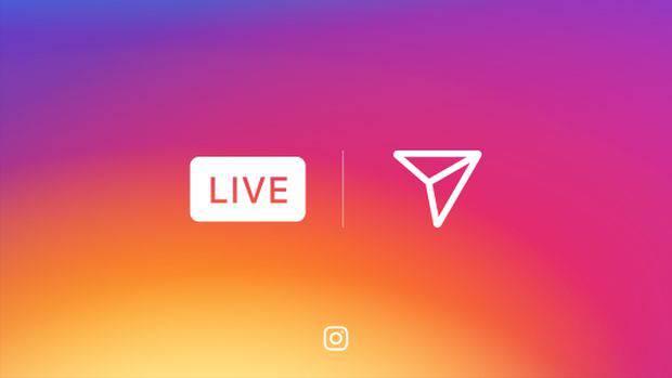 Instagram запускает прямые видеотрансляции и сообщение, что самовидаляються