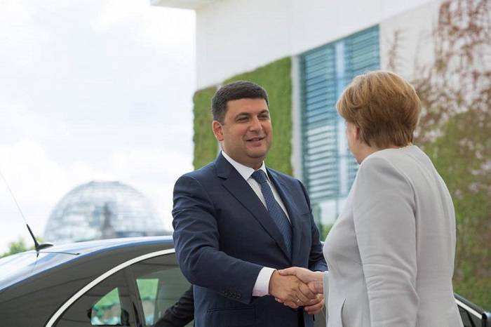 Гройсман прибыл с официальным визитом в Венгрию