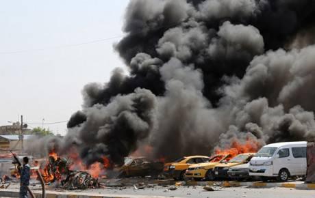 В Ираке взорвался заминированный автобус, погибли 70 паломников. ФОТО