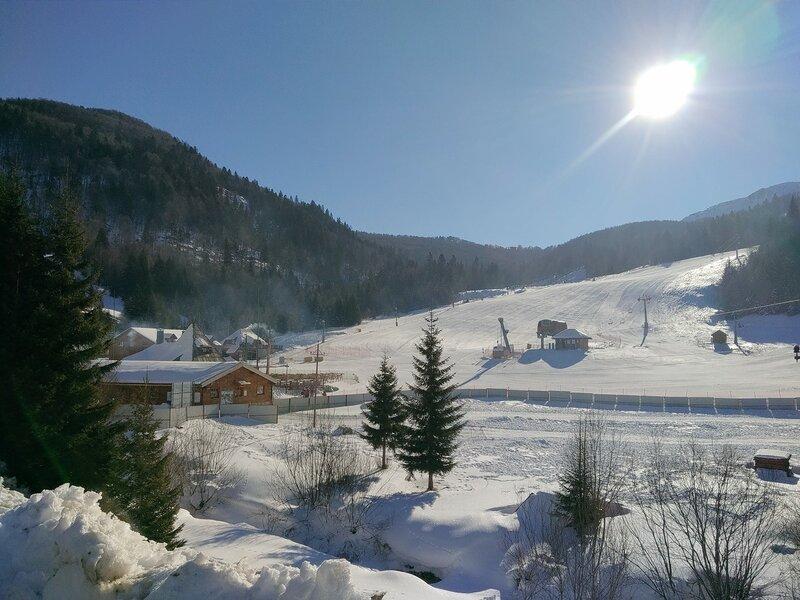 Колашин зимой, горнолыжка в Черногории