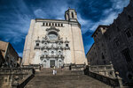 Кафедральный Собор в Жироне (Испания)
