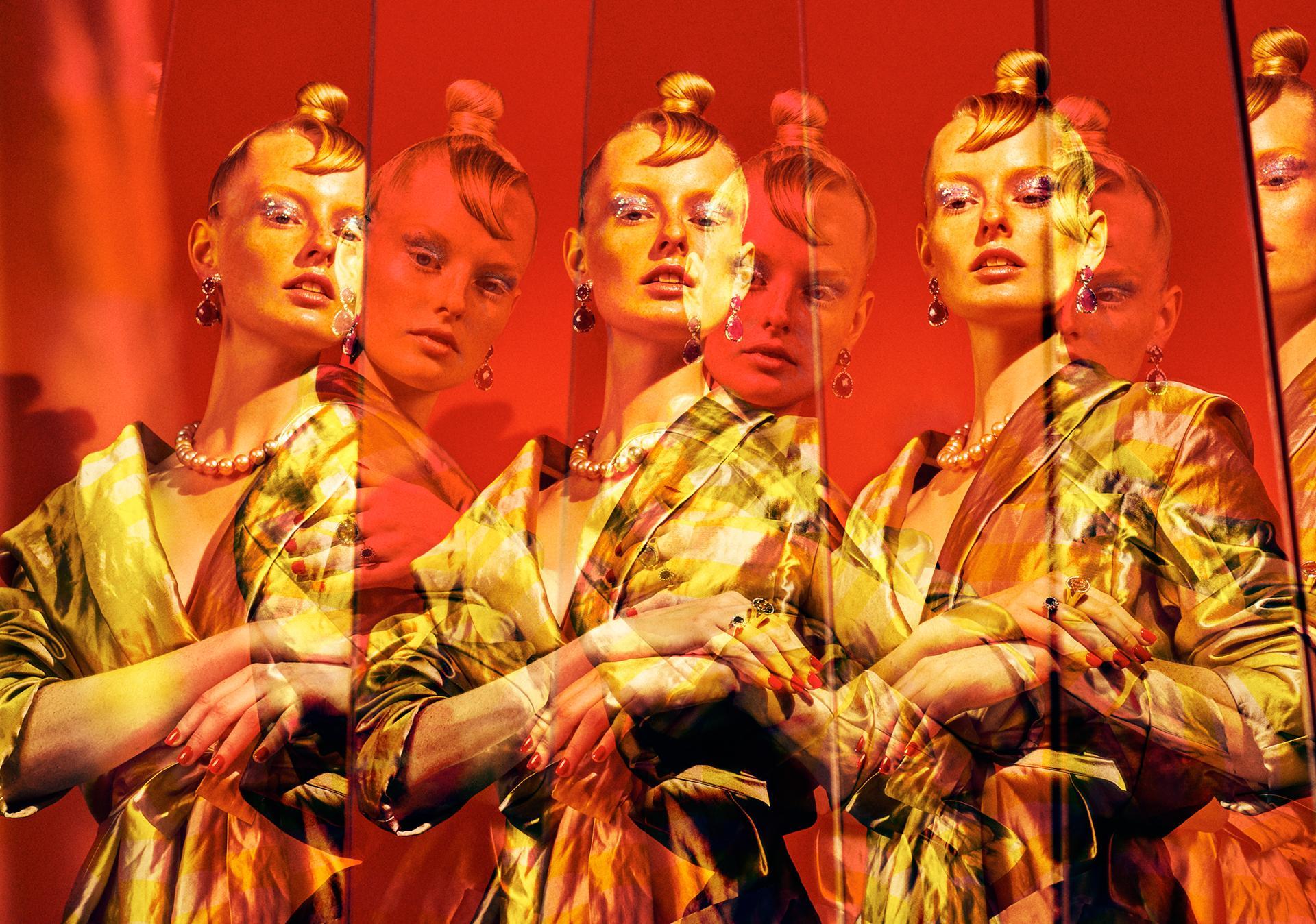 My reflection for GALA Germany / Елизавета Породина Elizaveta Porodina