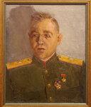 Ильин Евгений Владимирович. Портрет генерал-майора А.А. Дьяконова. 1942