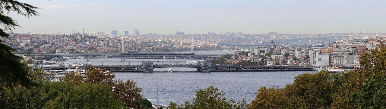 Стамбул, Топкапы. Вид с террасы Софа-и Хюмайун