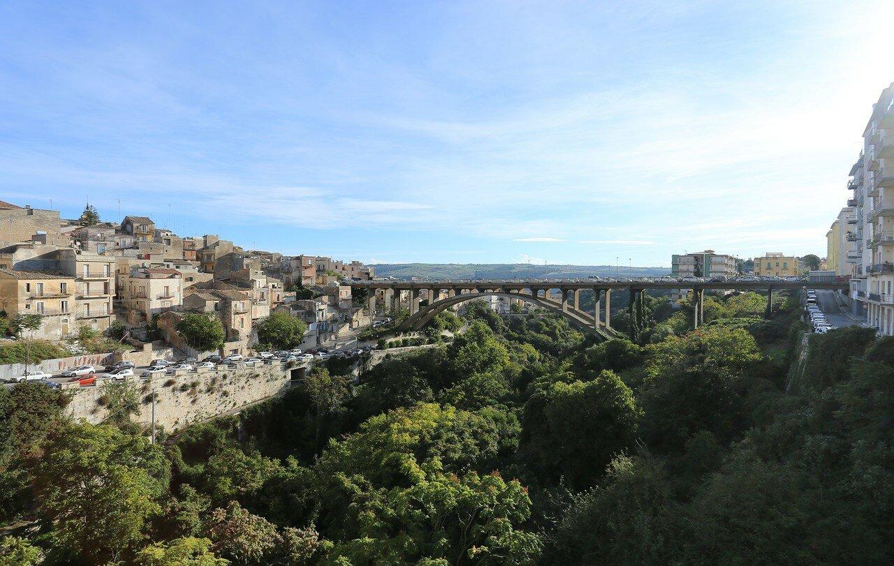 Рагуза. Виды с моста Капучини (Ponte dei Cappuccini)