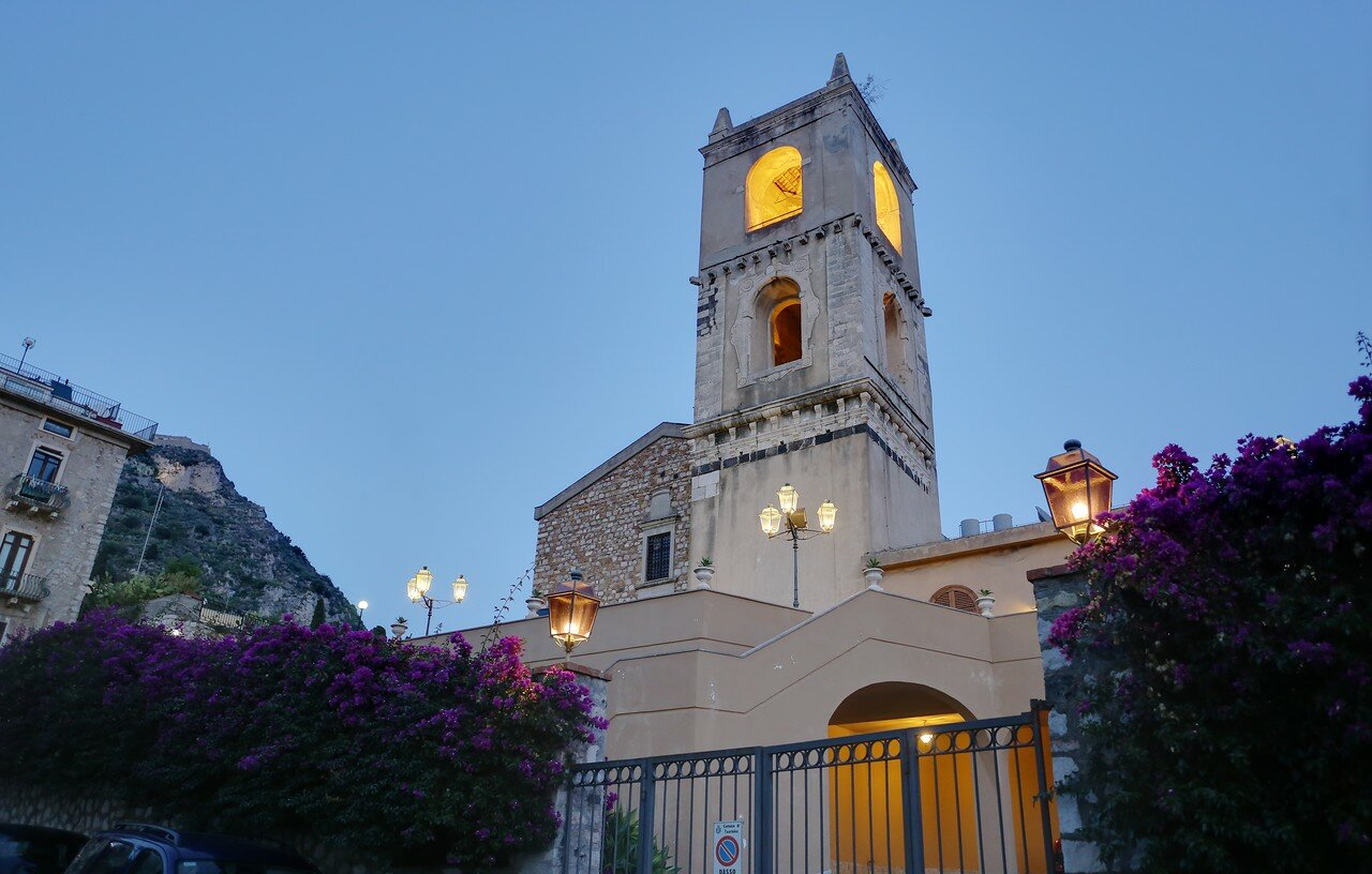 Evening Walk in Taormina