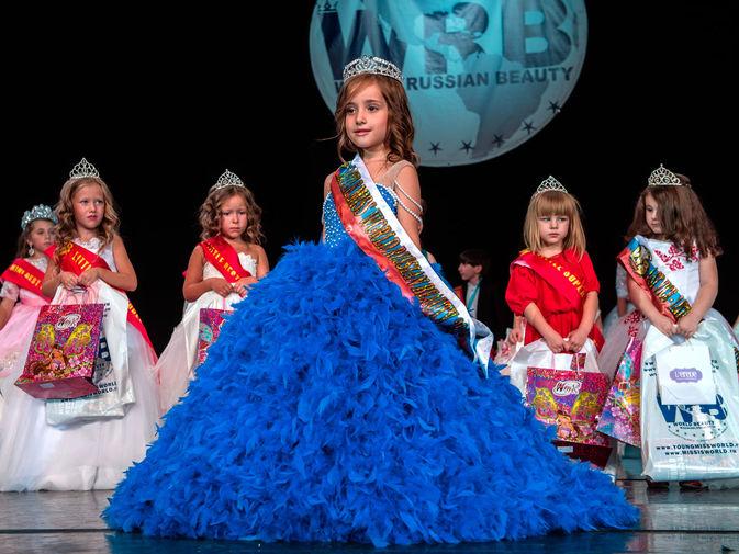Победительница Всероссийского конкурса красоты Miss World Russian Beauty Кристина Адамсон