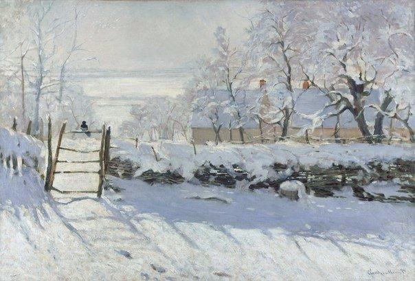 """Великий живописец Клод Моне и его """"Зима"""""""