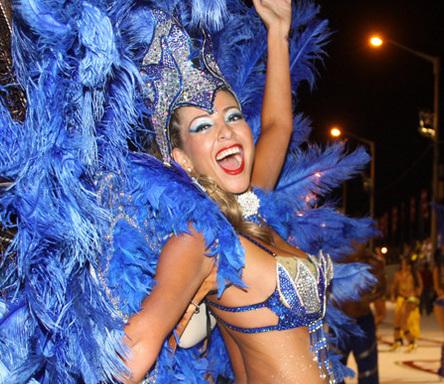Карнавал «Льямадас» в Парагвае