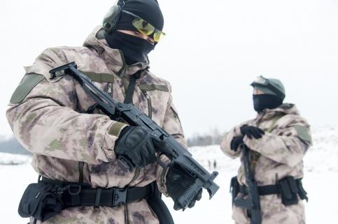 В столицеРФ ищут сбежавшего вформе милиции военного
