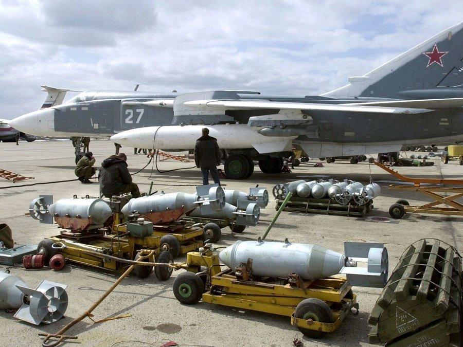 При помощи ВКС Российской Федерации вСирии уничтожены 35 тыс. боевиков