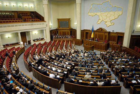 ВВерховную Раду внесли законодательный проект обисключительности украинского языка