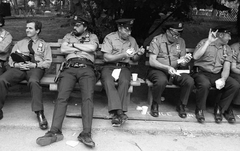 Central Park, Anti-nuke rally, 1982 Boretz photographs with emotion in her mind. She was alwa