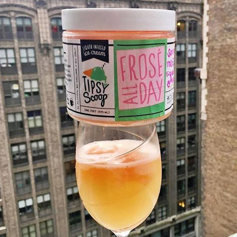 Tipsy Scoop - Alcohol infused ice cream for all the cocktail lovers