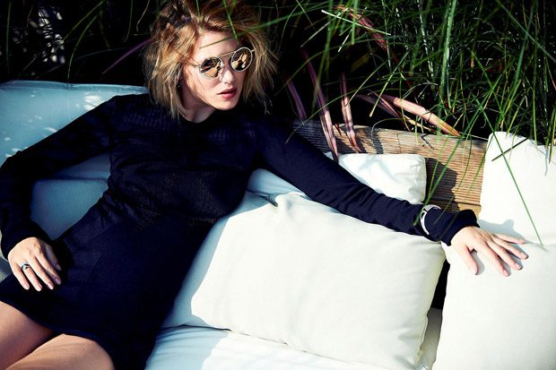 Lea Seydoux in Louis Vuitton for Madame Figaro Cover Story