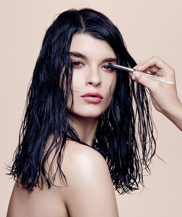 Crystal Renn by Dusan Reljin for Glamour US