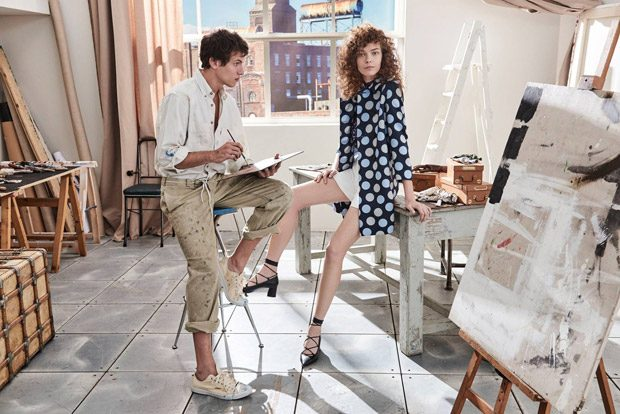 Mina Cvetkovic & Adrian Cardoso Star in iBlues Spring Summer 2017 Ads