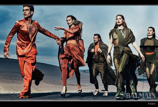 Doutzen Kroes, Isabeli Fontana & Natasha Poly Star in Balmain SS17 Ads