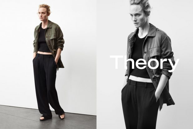 Amber Valletta, Liya Kebede, Fei Fei Sun + More for Theory SS17 (4 pics)