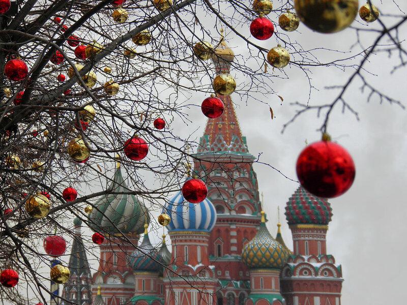 Новый год по-московски