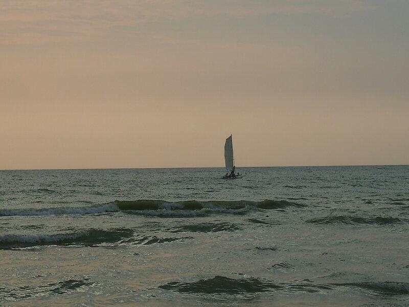 море, Анапа
