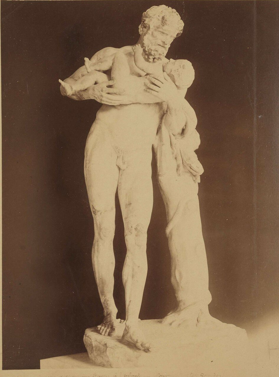 134. Силен и Дионис