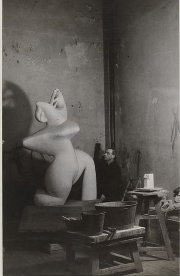 1946. Анри Лоран и «Большая музыкантша»