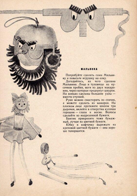 Мальвина и Карабас Барабас