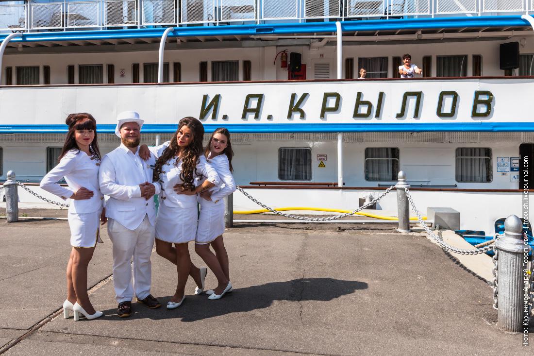 теплоход И.А.Крылов навигация 2017