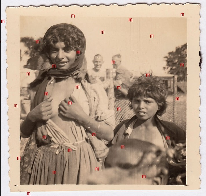 Roma Girls Humiliation WWII 1.jpg