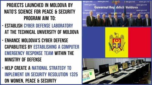Третий на постсоветском пространстве центр НАТО открыт в Молдове