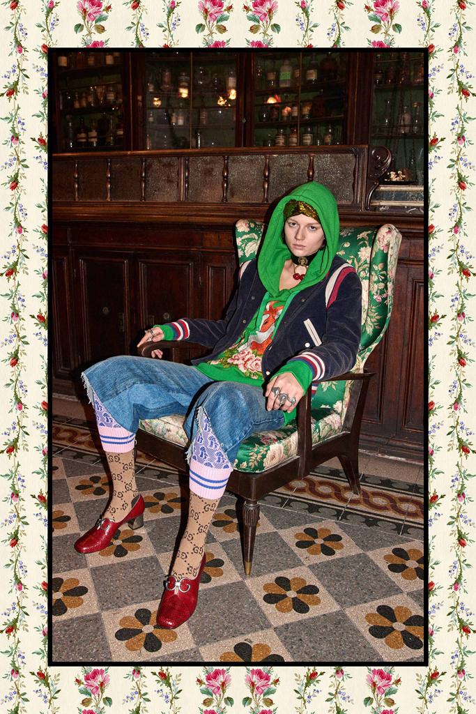 Коллекция от Gucci Осень-Зима 2017-2018