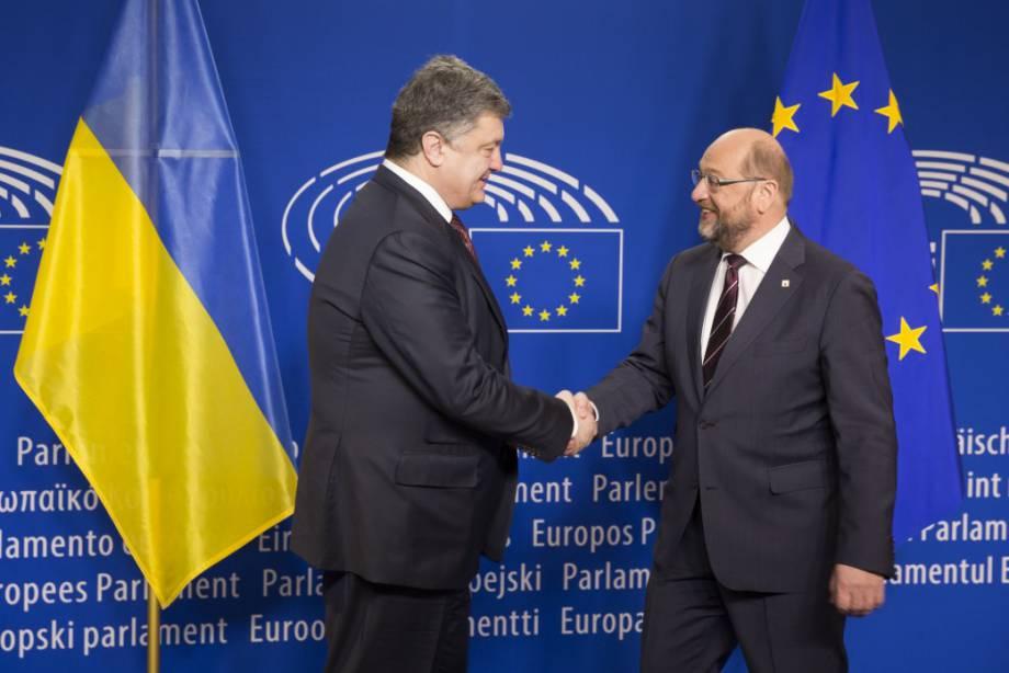 Шульц о предоставлении безвиза для Украины: В Европарламенте мы готовы. Все зависит от способности государств-членов, наконец, договориться