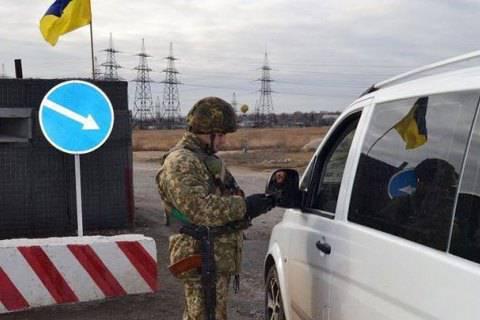 """Сепаратисты не пропускают людей на дорожном коридоре """"Стаханов - Золотое - Горное - Лисичанск"""""""