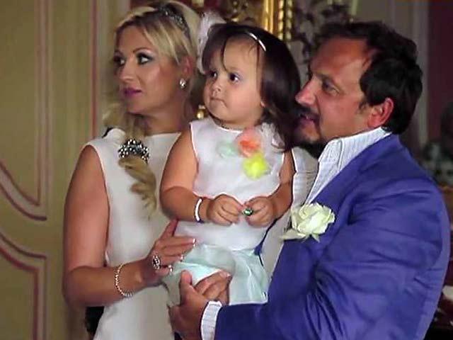 Инна Канчельскис, Стас Михайлов и дочь фото