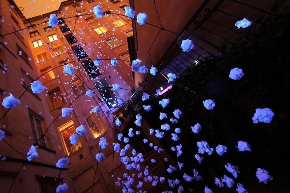 Световое шоу в Лионе