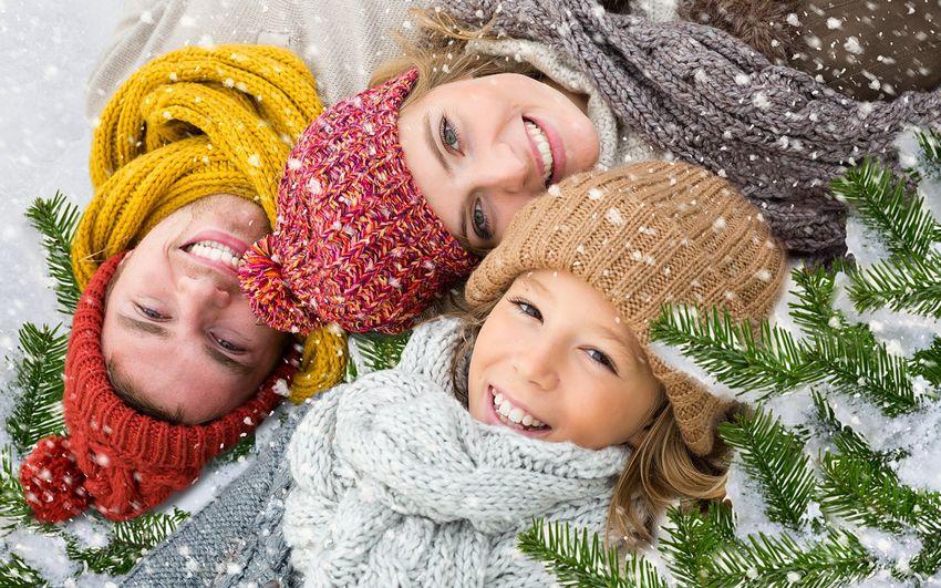 Новый год, фото, люди, дети, счастье