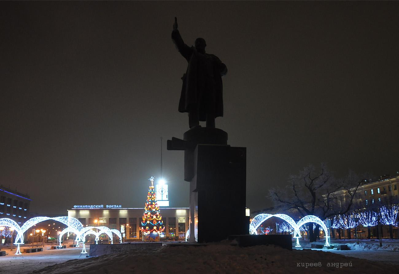 Новый Год. Санкт-Петербург.