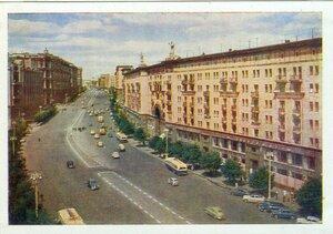 СССР, Москва. Улица Горького. 1960, 275 тыс.jpg