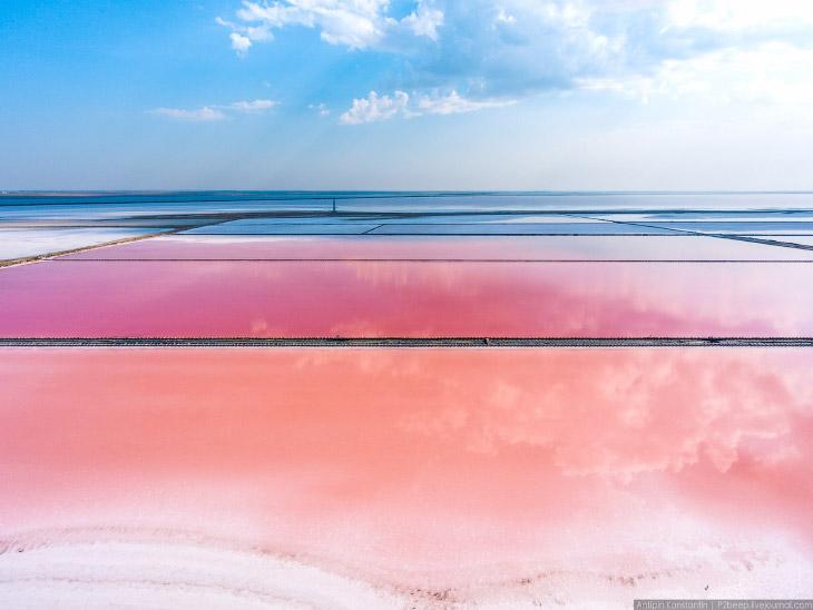 Сасык-Сиваш — крупнейшее озеро Крыма (46 фото)