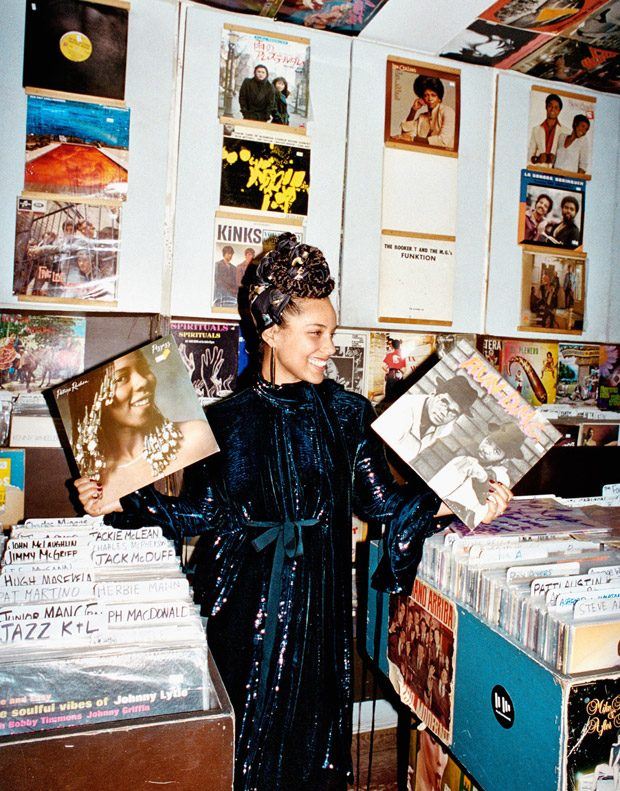 Алиша Кис в Edit Magazine