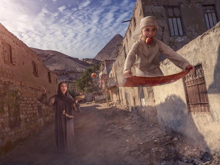 Когда твой папа (Adrian Sommeling) — бог фотошопа (10 фото)