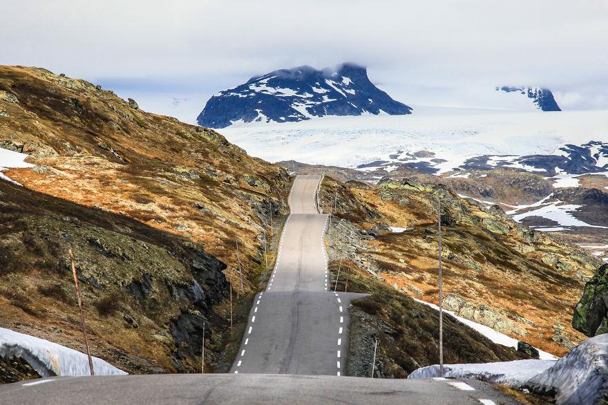 44. Дорога в Норвегии