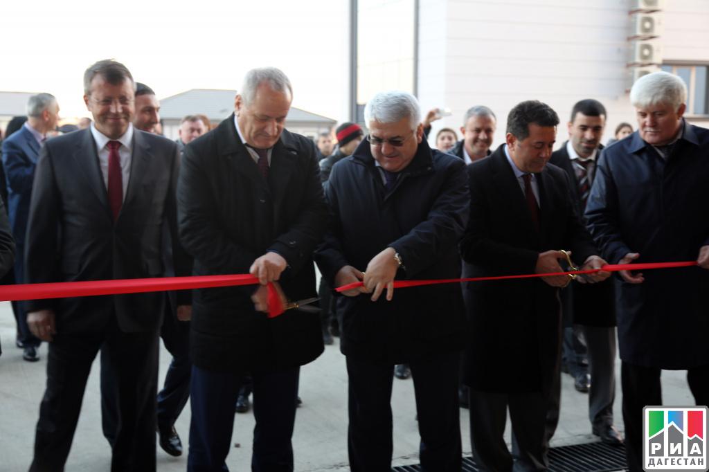 Турецкие инвесторы построили вДагестане новый завод металлоконструкций