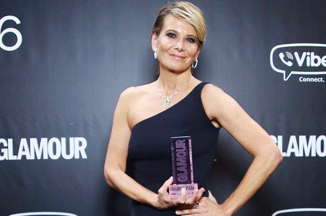 Юлия Высоцкая получила звание «Женщина года»