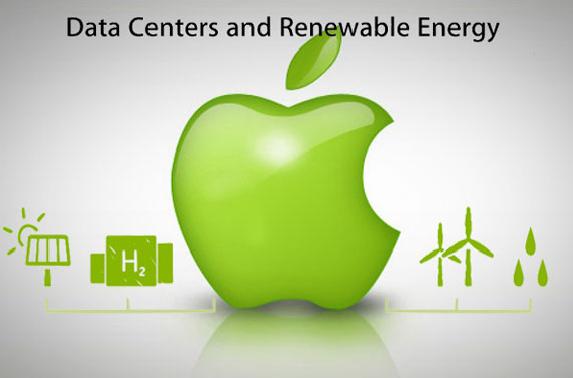 Компания Apple вкладывает средства в«зеленую» энергетику