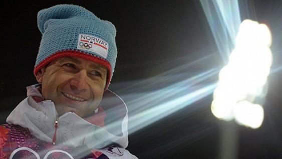 Известный биатлонист Бьорндален вступился за русских биатлонистов