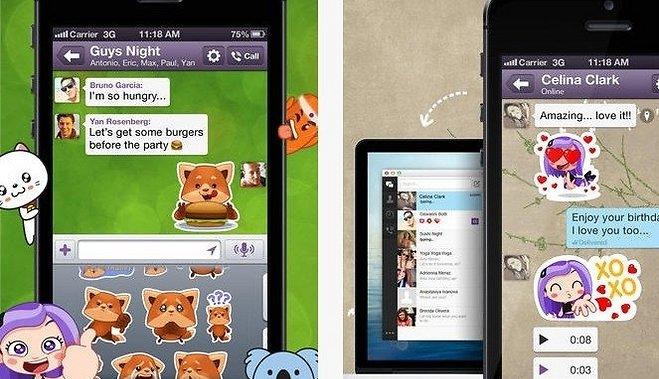 Viber обновил приложения для андроид иiOS